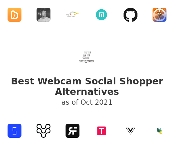 Best Webcam Social Shopper Alternatives