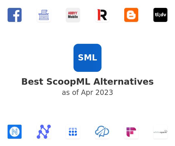 Best ScoopML Alternatives