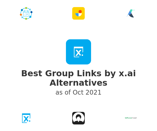 Best Group Links by x.ai Alternatives