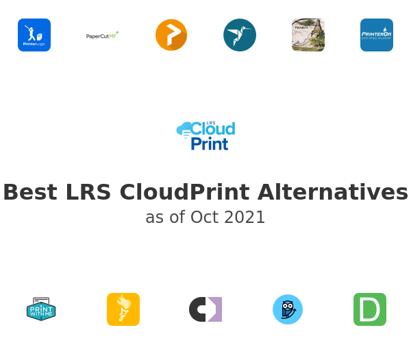 Best LRS CloudPrint Alternatives
