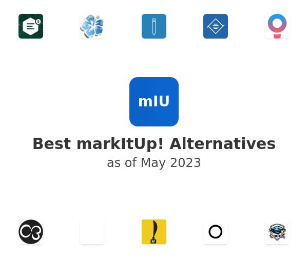 Best markItUp! Alternatives