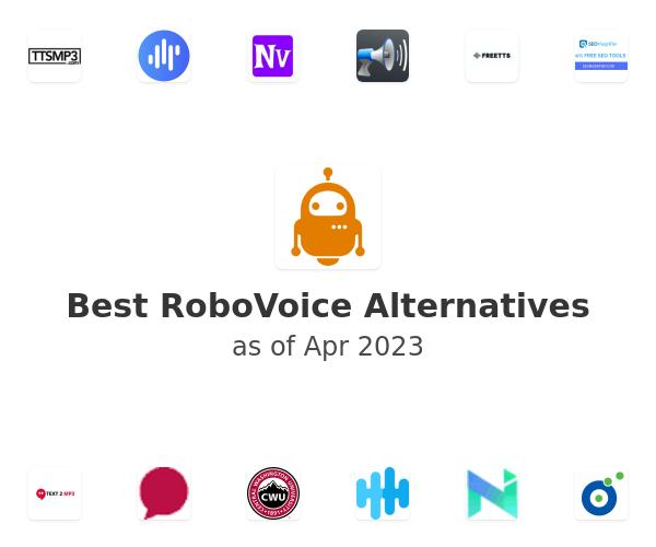 Best RoboVoice Alternatives