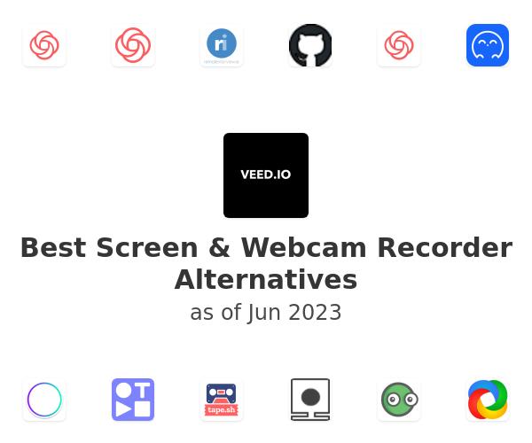 Best Screen & Webcam Recorder Alternatives