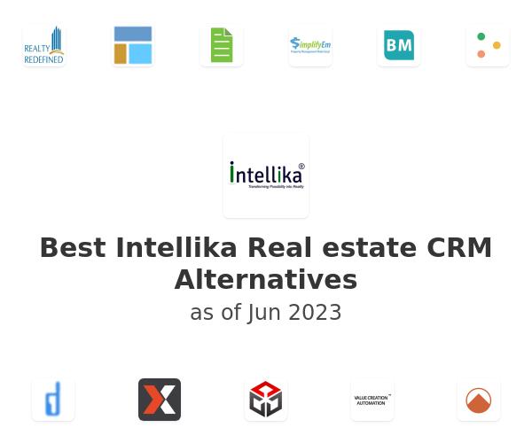 Best Intellika Real estate CRM Alternatives