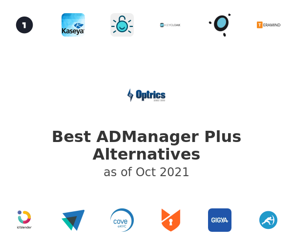 Best ADManager Plus Alternatives