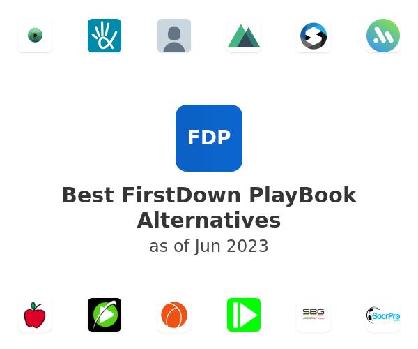 Best FirstDown PlayBook Alternatives