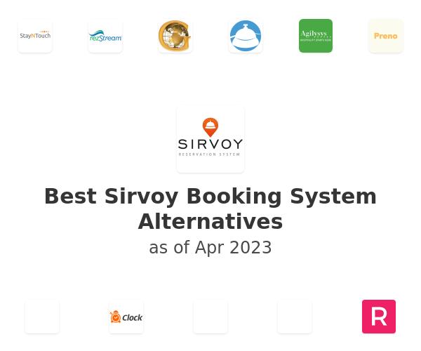 Best Sirvoy Booking System Alternatives