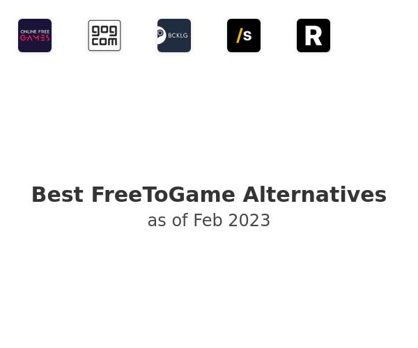 Best FreeToGame Alternatives