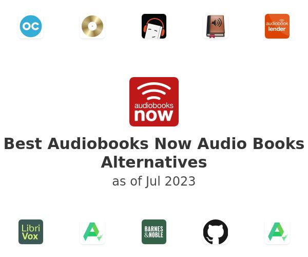 Best Audiobooks Now Audio Books Alternatives