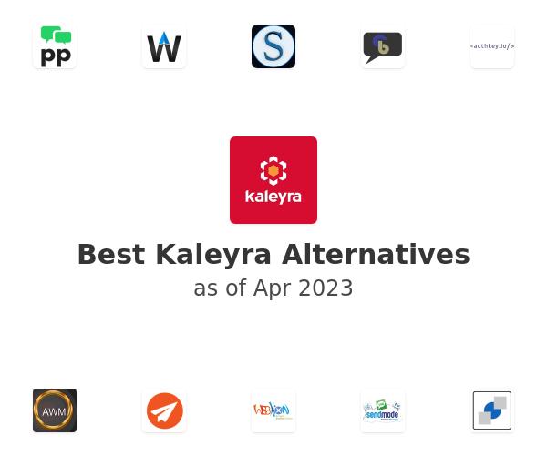Best Kaleyra Alternatives
