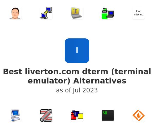 Best dterm (terminal emulator) Alternatives