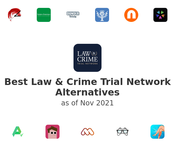 Best Law & Crime Trial Network Alternatives