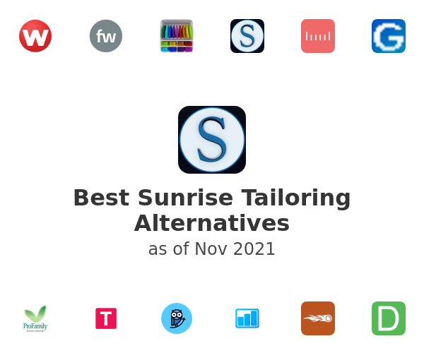 Best Sunrise Tailoring Alternatives