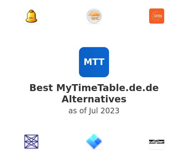 Best MyTimeTable.de Alternatives