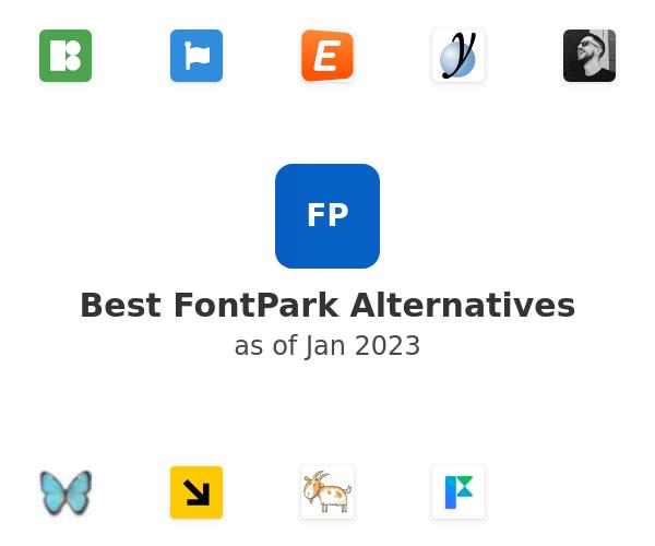 Best FontPark Alternatives