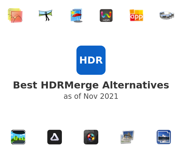Best HDRMerge Alternatives