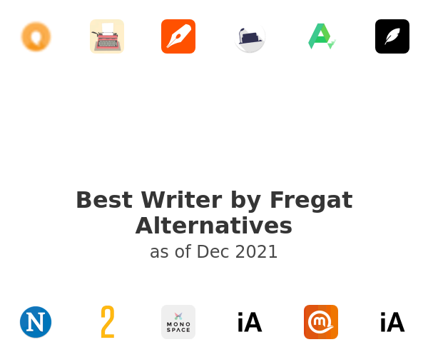 Best Writer by Fregat Alternatives