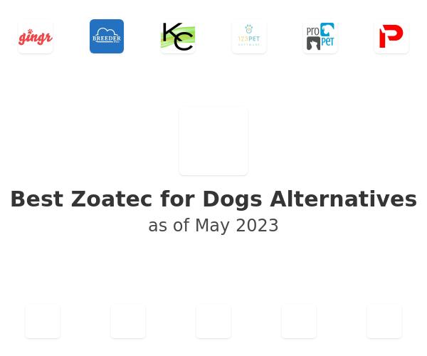 Best Zoatec for Dogs Alternatives