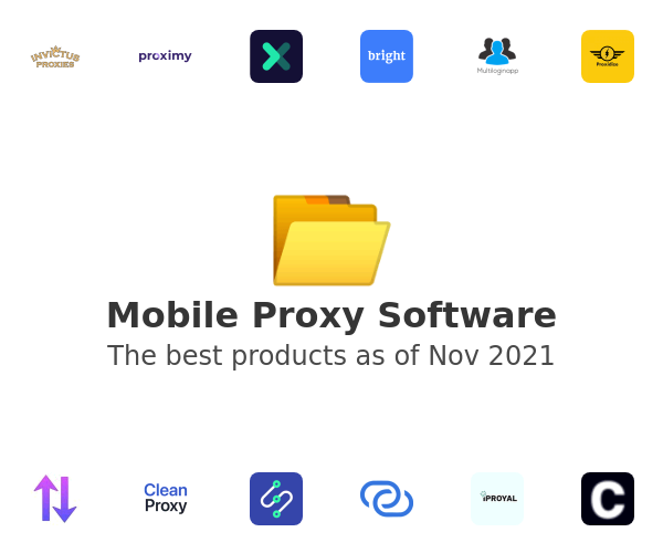Mobile Proxy Software