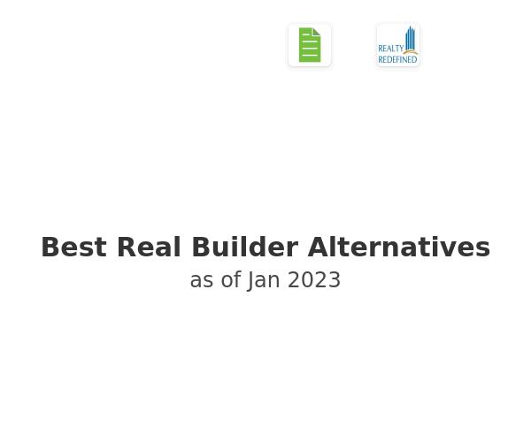 Best Real Builder Alternatives