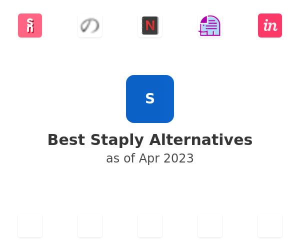 Best Staply Alternatives