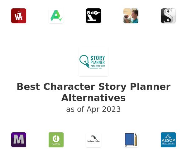 Best Character Story Planner Alternatives
