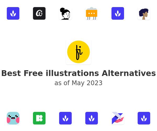 Best Free illustrations Alternatives