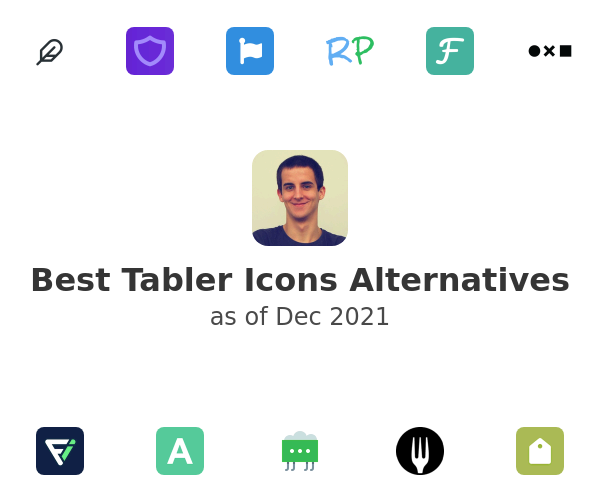 Best Tabler Icons Alternatives