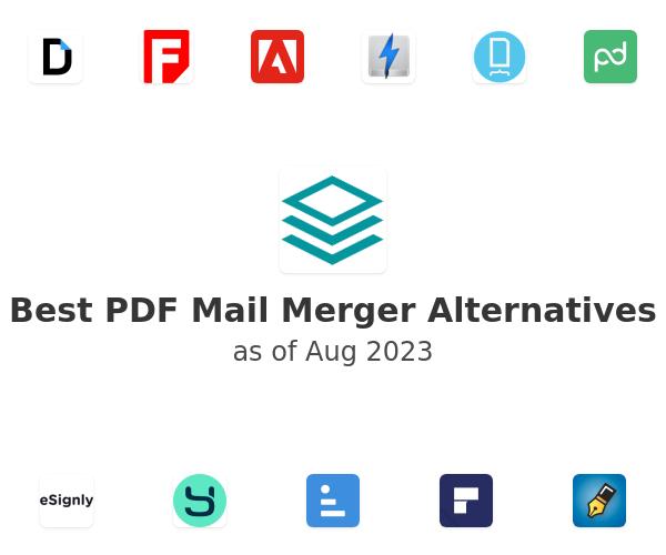 Best PDF Mail Merger Alternatives