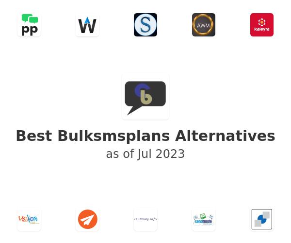 Best Bulksmsplans Alternatives