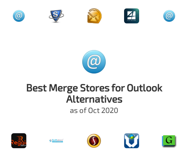 Best Merge Stores for Outlook Alternatives