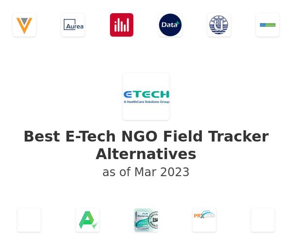 Best E-Tech NGO Field Tracker Alternatives