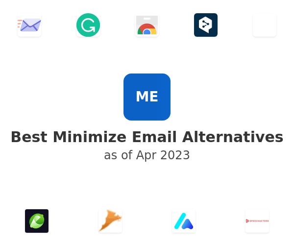 Best Minimize Email Alternatives