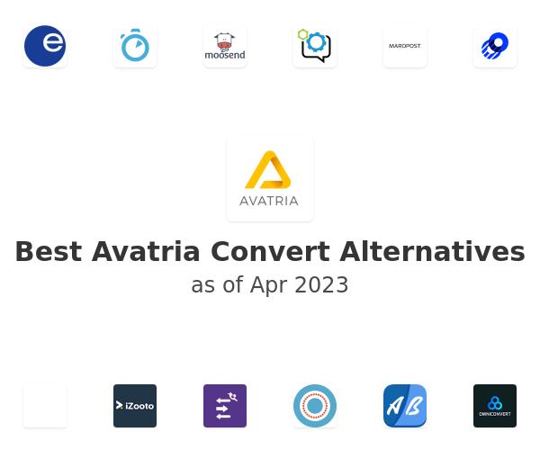Best Avatria Convert Alternatives