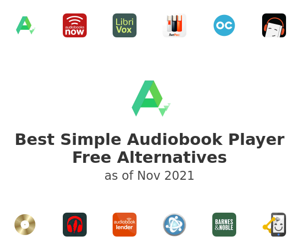 Best Simple Audiobook Player Free Alternatives