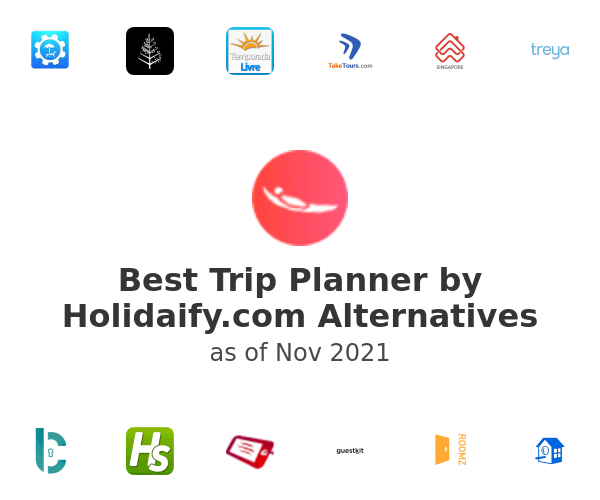 Best Trip Planner by Holidaify.com Alternatives