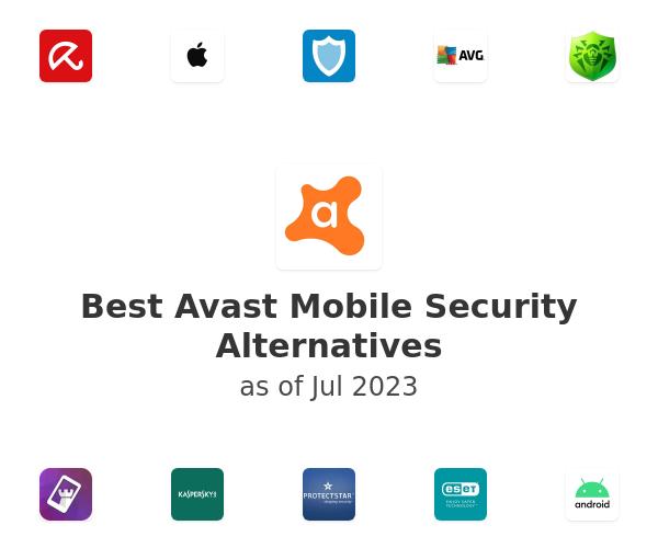 Best Avast Mobile Security Alternatives