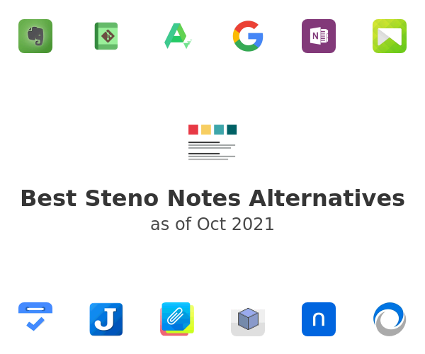 Best Steno Notes Alternatives