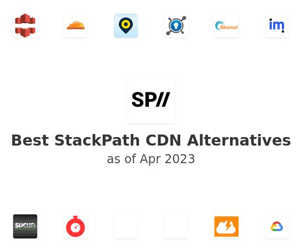 Best StackPath CDN Alternatives