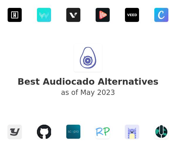 Best Audiocado Alternatives