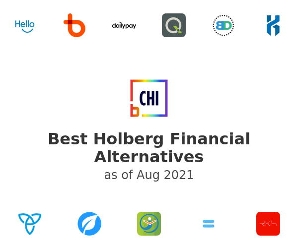 Best Holberg Financial Alternatives