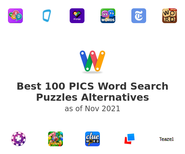 Best 100 PICS Word Search Puzzles Alternatives
