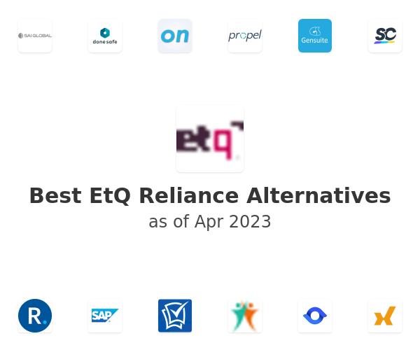 Best EtQ Reliance Alternatives