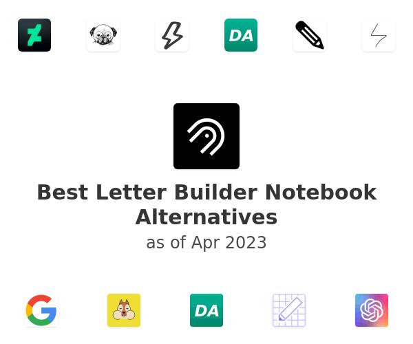 Best Letter Builder Notebook Alternatives