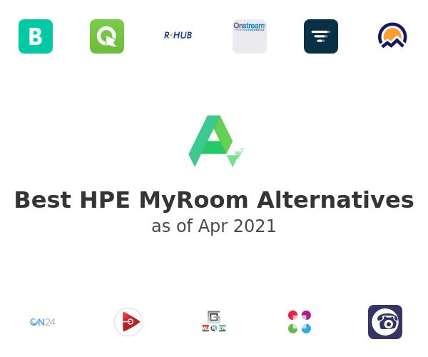 Best HPE MyRoom Alternatives