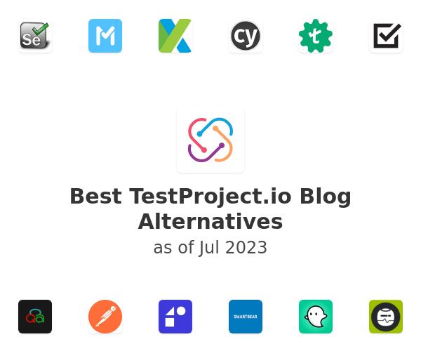 Best TestProject.io Alternatives
