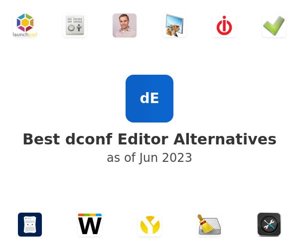 Best dconf Editor Alternatives