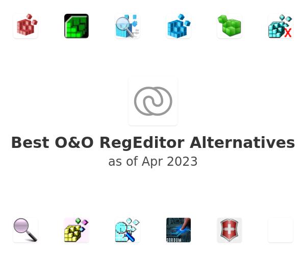 Best O&O RegEditor Alternatives