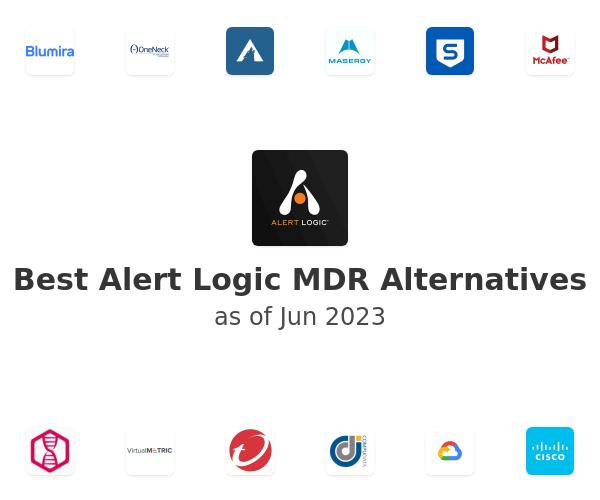 Best Alert Logic MDR Alternatives