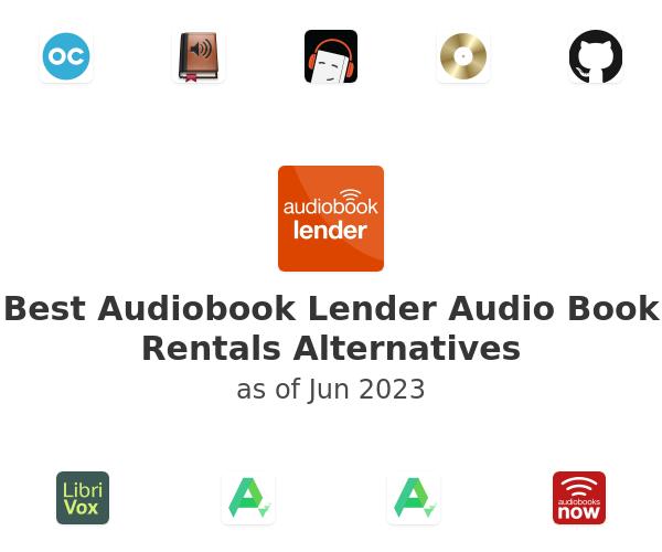 Best Audiobook Lender Audio Book Rentals Alternatives